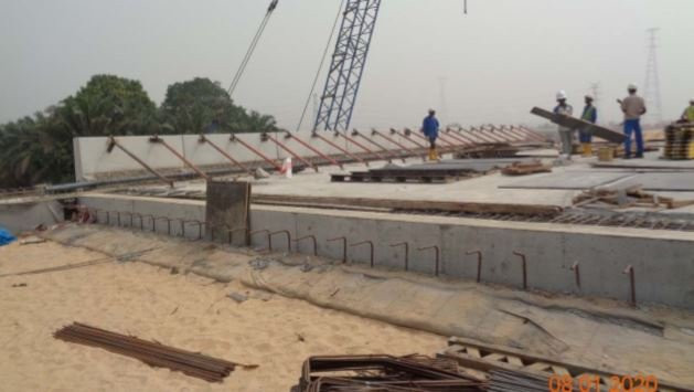 Julius Berger shares new photos of Second Niger bridge
