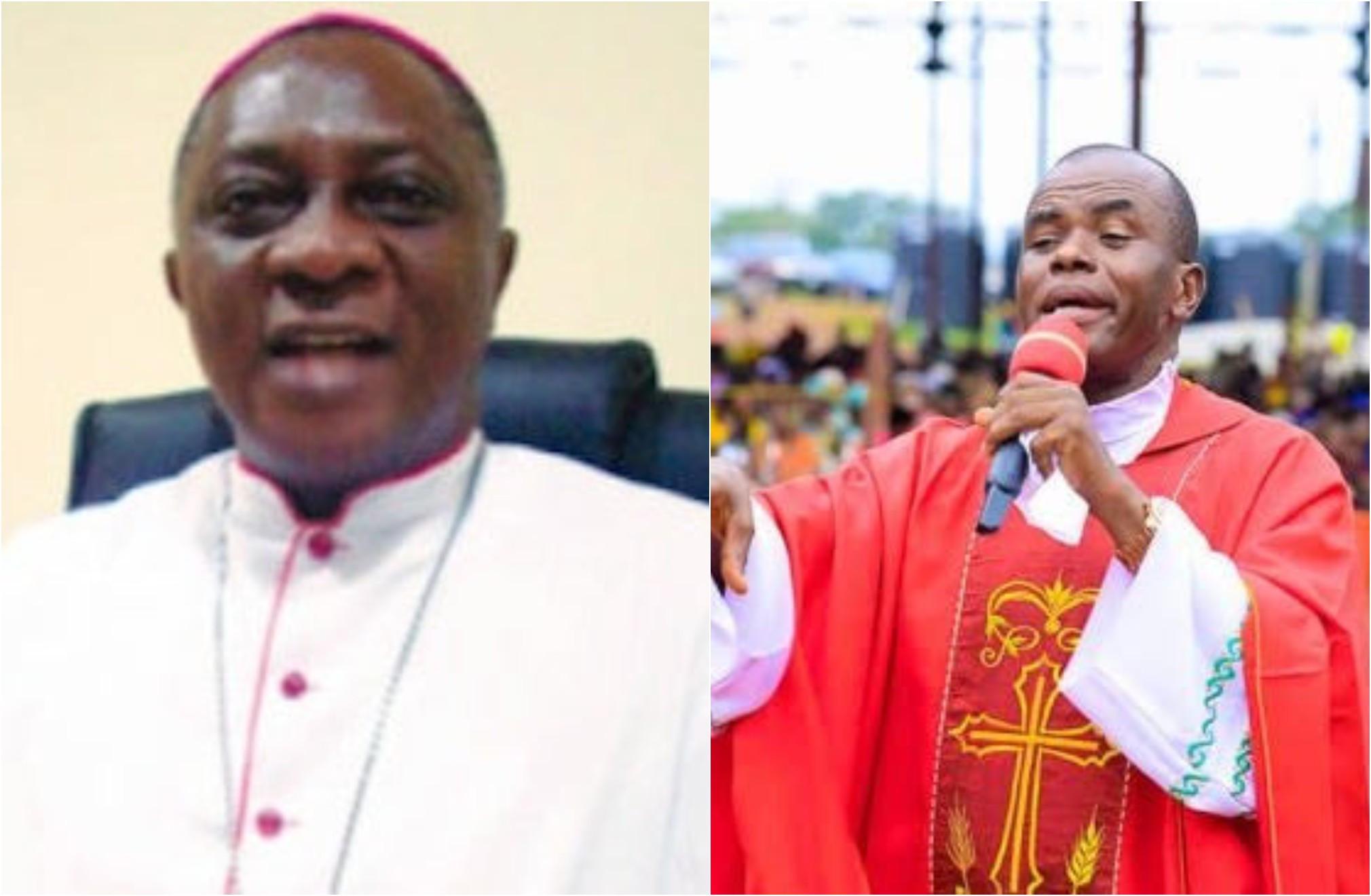 Catholic church may bar Father Mbaka from preaching ? Archbishop Adewale Martins