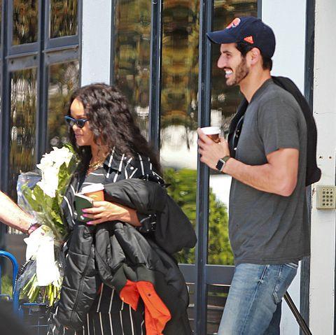 Rihanna and her Billionaire boyfriend Hassan Jameel