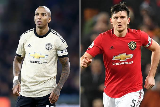 £80m defender Harry Maguire crowned new captain of Manchester United after Ashley Young joins Inter Milan