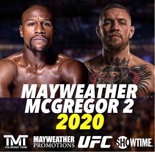 Floyd Mayweather appears to confirm Conor McGregor rematch