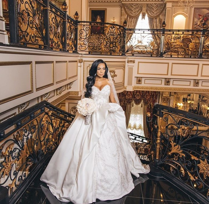 Safaree and Erica Mena share official photos from their wedding