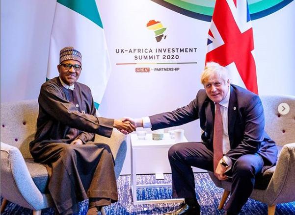 President Buhari meets UK