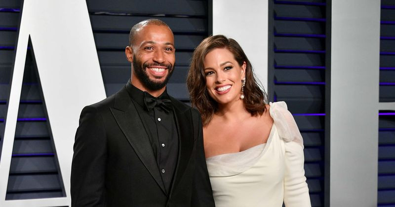 Ashley Graham and husband Justin Ervin welcome their first child, a baby boy