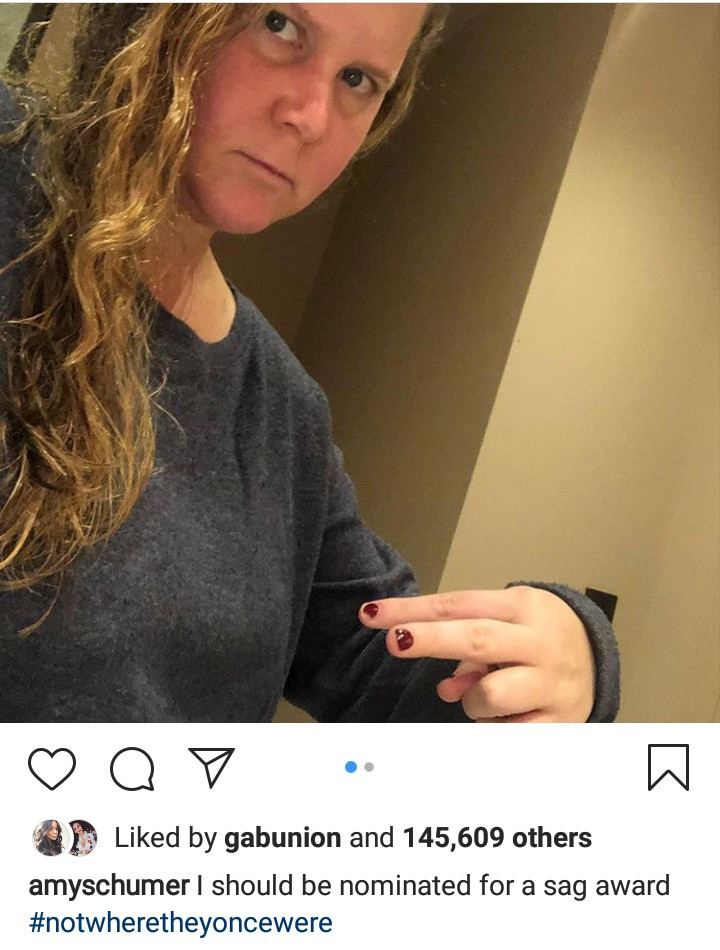 Amy Schumer makes fun of her