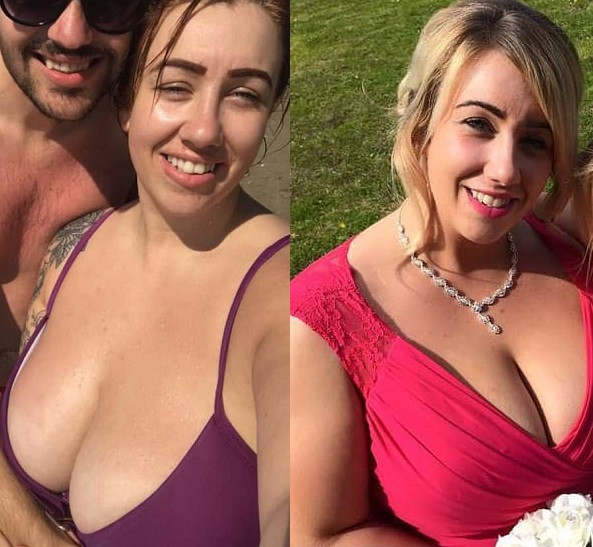 My giant chest is ruining my life - Woman with 38KK breasts cries out (Photos)