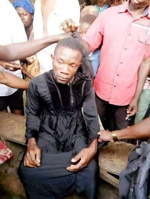 Nigerian man caught after he allegedly disguised in hijab to have sex with a married woman in her husband