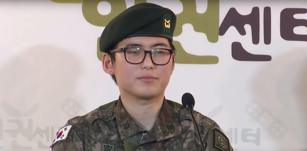 South Korea?s first transgender soldier thrown out of the army