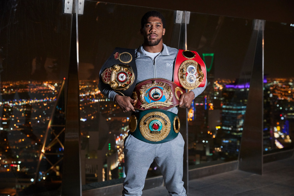 Anthony Joshua responds to Tyson Fury saying Deontay Wilder would knock him out in two rounds