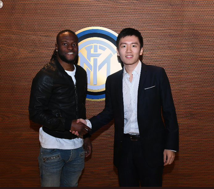 #WelcomeVictor: Inter Milan unveil Victor Moses, hand him number 11 jersey (photos)