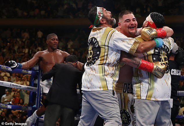 Andy Ruiz Jr. sacks his coach Manny Robles one month after losing to Anthony Joshua
