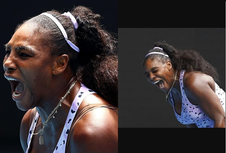 Serena Williams is knocked out of the Australian Open as her wait for a first Grand Slam since becoming a mother goes on