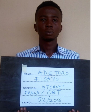Final year student of a private university sentenced to 13 years imprisonment for money laundering
