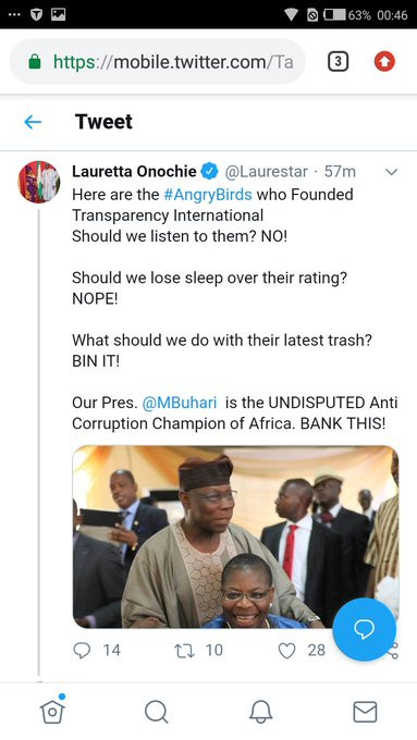 Nigerian lady accuses President Buhari
