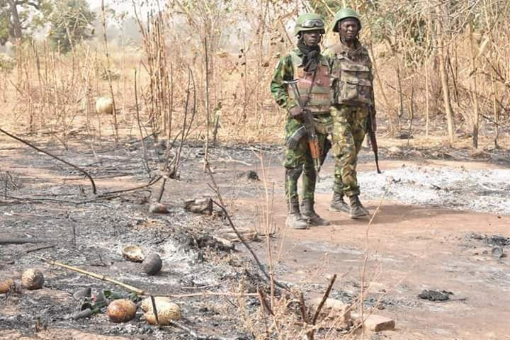 Two suspected kidnappers nabbed in Katsina forest (photos)