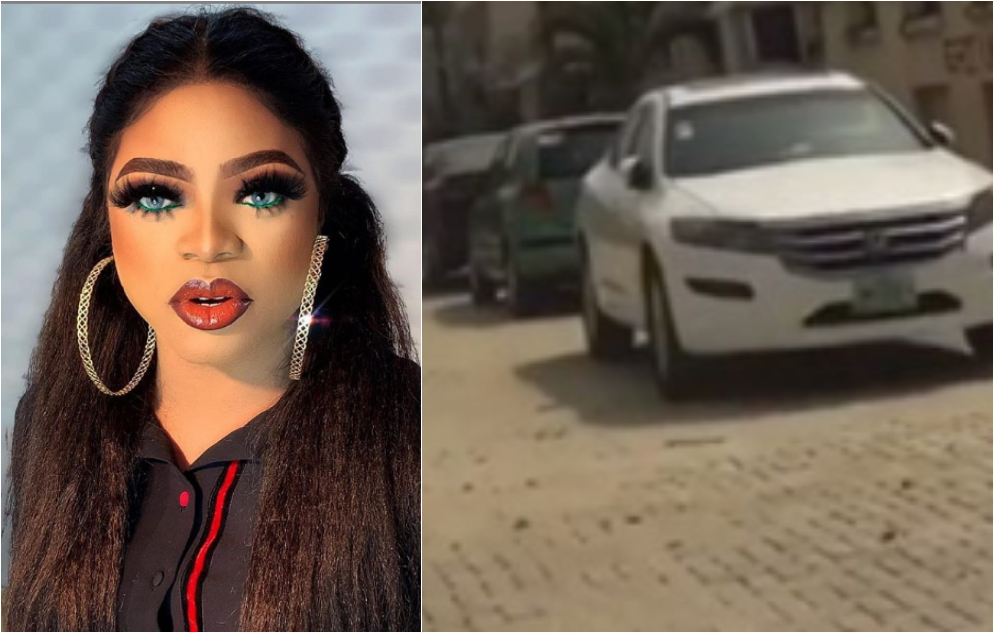 No soldier arrested me or collected my cars - Bobrisky