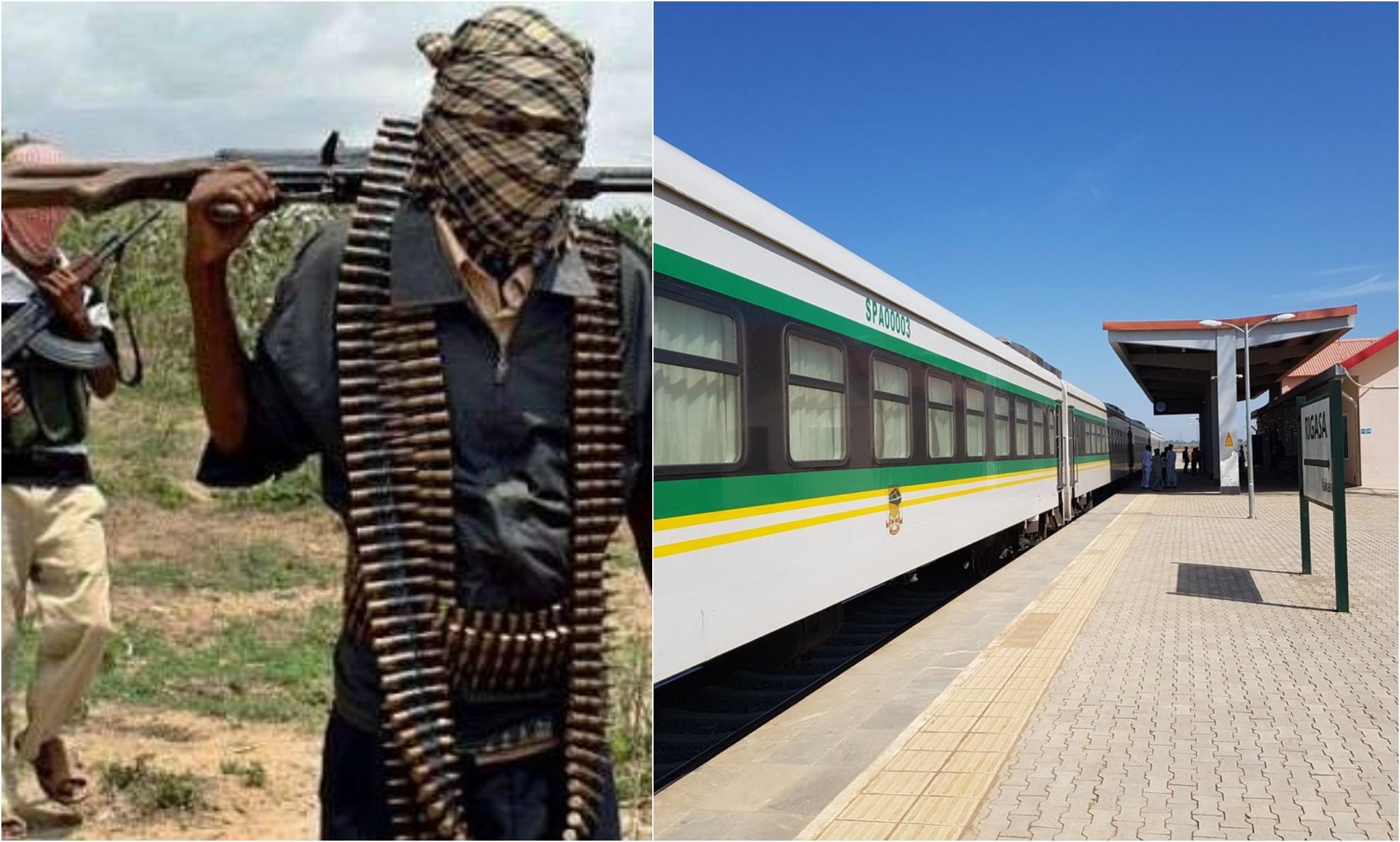 Gunmen allegedly open fire on travellers around Kaduna train station