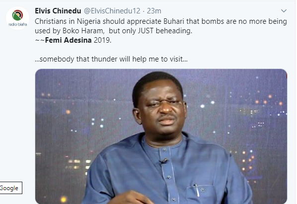 FFK, Apostle Suleiman, others drag Femi Adesina over his statement attacking CAN