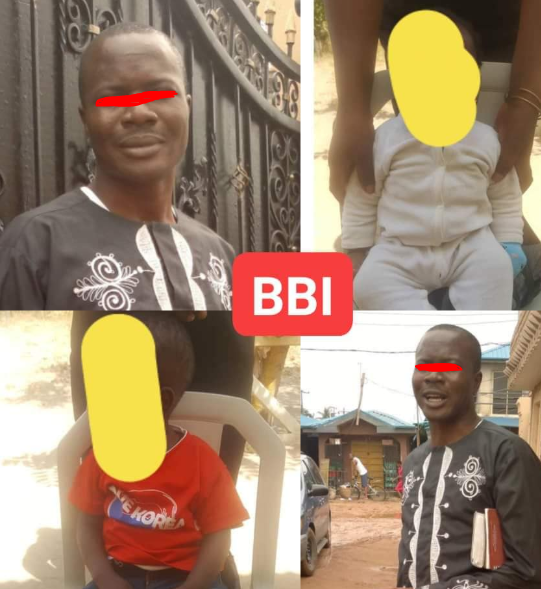 Man arrested for allegedly defiling two of his children in Abuja (photos)