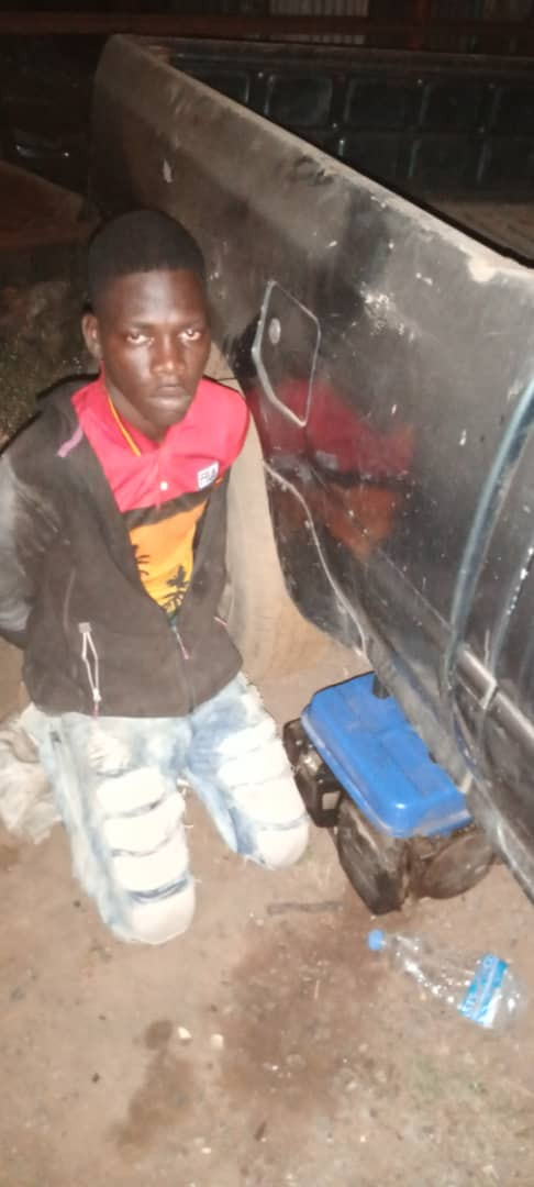 I attend churches to steal - 21-year-old suspect