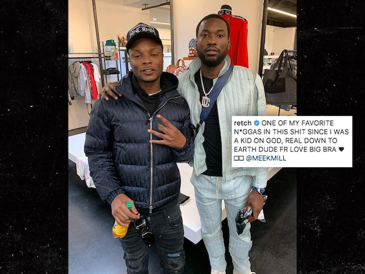 Meek Mill gets into a shouting match with his ex-girlfriend Nicki Minaj and her husband Kenneth Petty (video)