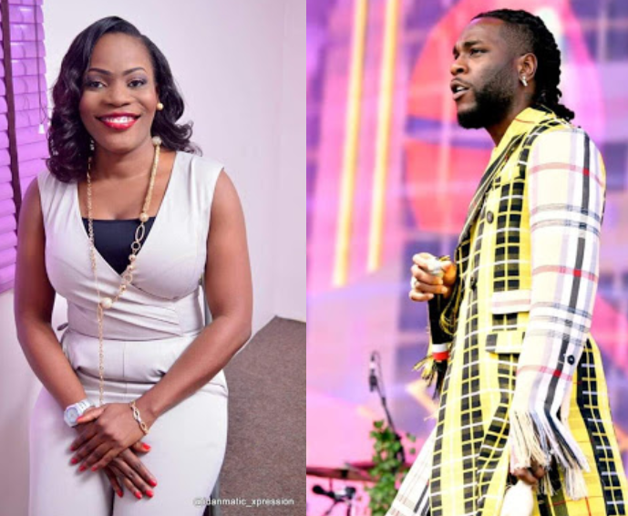 Nigerian therapist says she loves Burna Boy