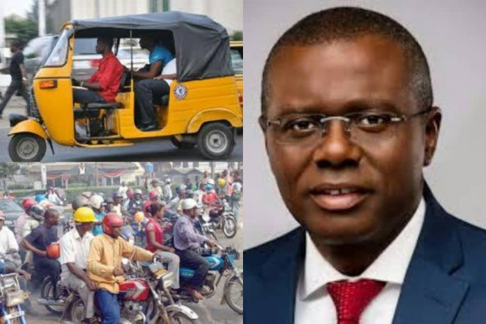 Lagos state government bans Okadas, tricyles, including Opay, Gokada from operating in parts of the state