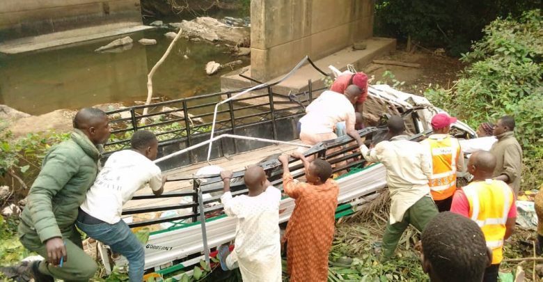 15 dead, 38 injured as truck plunges into river in Ogun (photos)