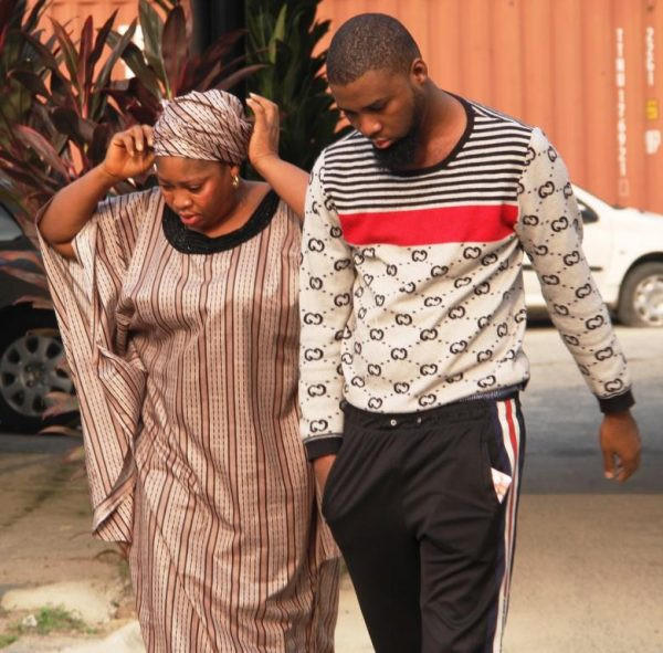 (Photos) Mother and son wanted by FBI, jailed for internet scam in Lagos thumbnail
