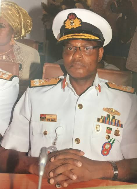 Pirates hide in Tarkwa-Bay to commit crimes ? Rear Admiral Oladele Daji