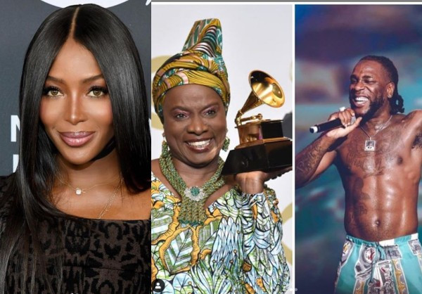 Naomi Campbell writes open letter to Grammy Awards organizers after Burna Boy