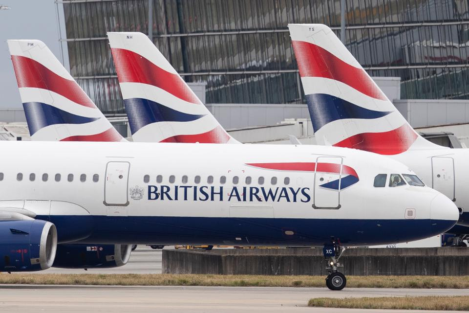 British Airways suspends all flights to mainland China with