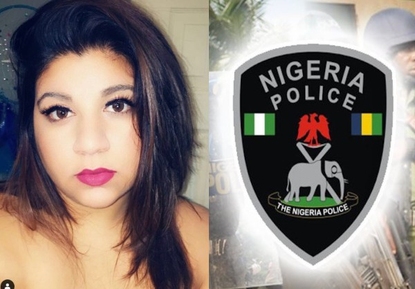 Canadian lady slams the Nigerian Police after her husband was allegedly assaulted and extorted after being labelled a kidnapper/highway robber (video)