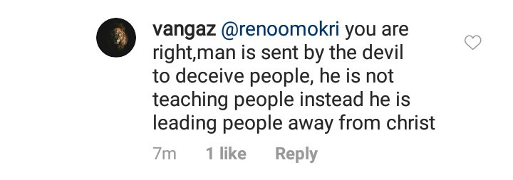 Daddy Freeze and Reno Omokri get into a public disagreement over their interpretation of the Bible