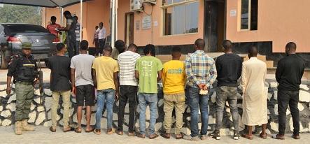 EFCC arrests landlord for allegedly harboring suspected internet fraudsters (photo)