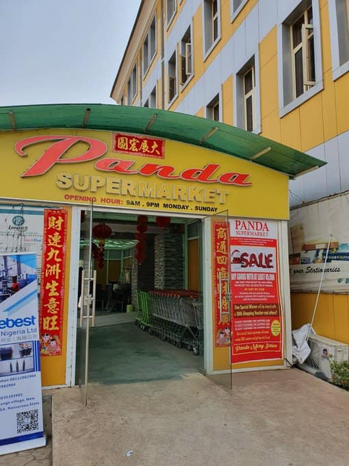 Coronavirus: Chinese supermarket in Abuja where products have an expiry date of 2089, 2073 and 2037, shut down by FG (photos)