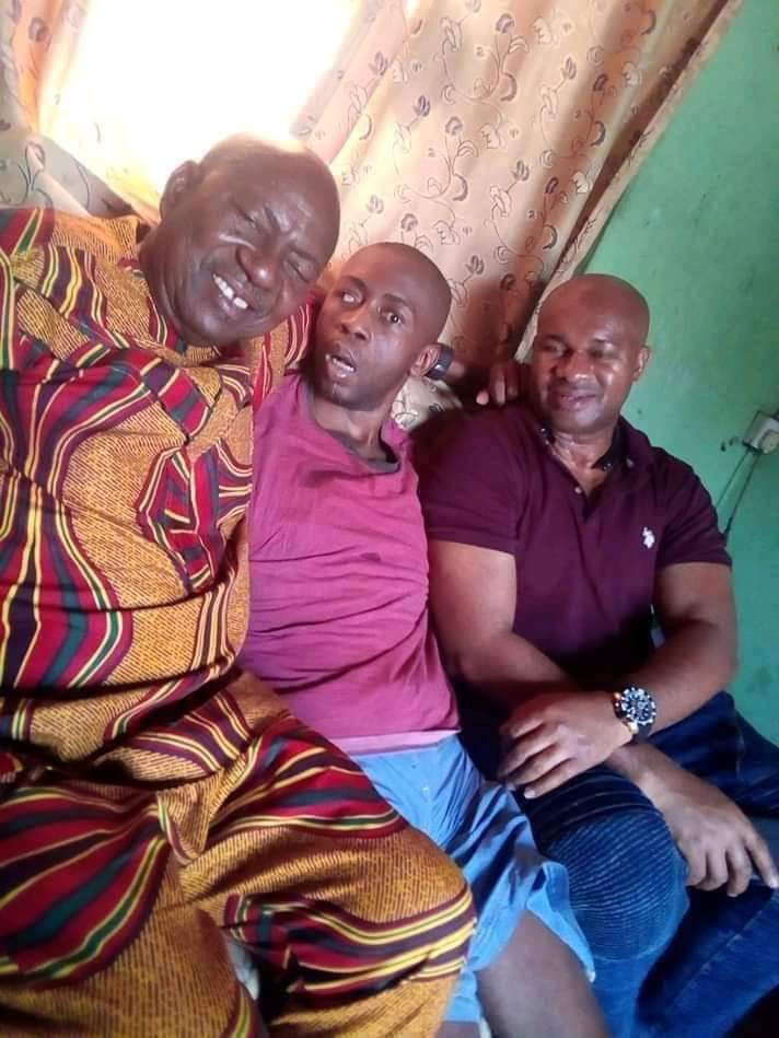 Colleagues call for help for Nollywood actor Ifeanyi Ezeokeke aka Ugo Shave Me after he was met in a