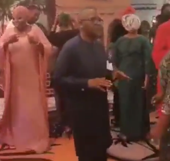 Who knew Aliko Dangote could dance like this? (video)