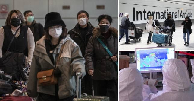 83 Britons leave China on coronavirus rescue flight