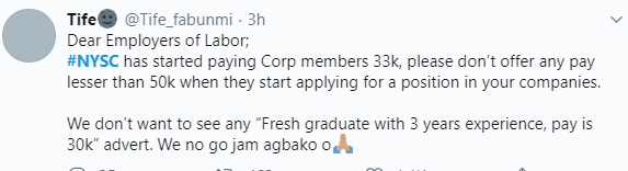 Excitement as NYSC members receive N33,000 allowance