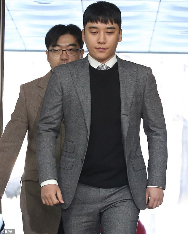 Former K-Pop star Seungri is charged with organising prostitution after a string of women alleged they were served to wealthy men to rape