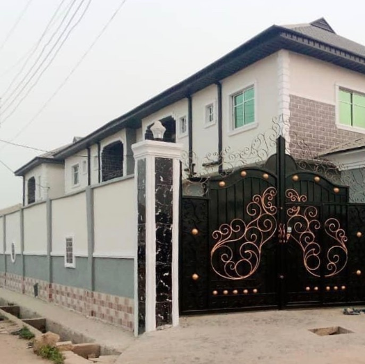 Another wife of MC Oluomo acquires a new house (photos/video)