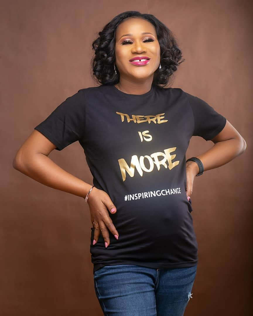 Sunmbo Adeoye expecting second child with hubby, David Adeoye (photos)