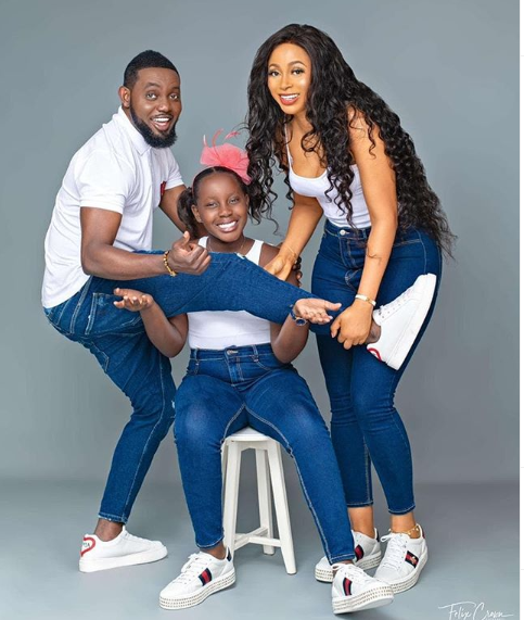 Comedian, AY and wife celebrate their daughter on her birthday