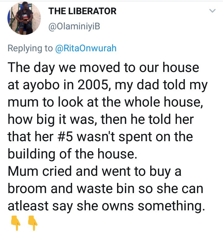 Man recounts the hurtful words his dad said to his mother after he built his house and how his mother reacted when the tables turned