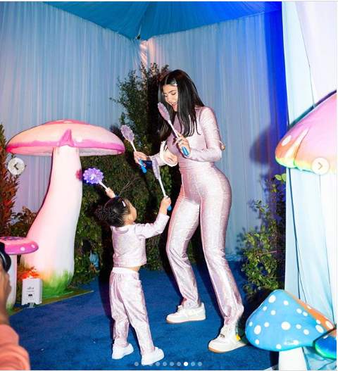 Kylie Jenner shares beautiful photos from her daughter Stormi Webster