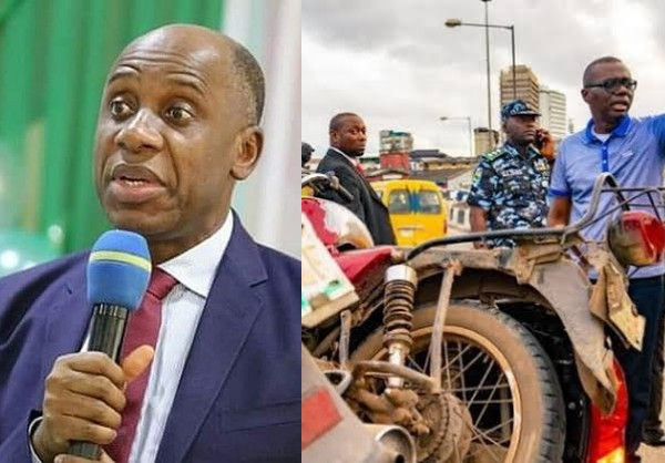 FG cannot intervene in ban of okada and tricycles in Lagos ? Amaechi