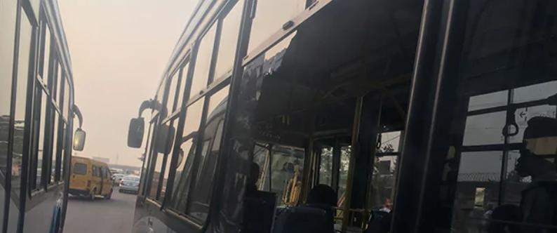 #Okadaban: Policemen and Keke Napep riders clash in Ijora, BRT buses attacked