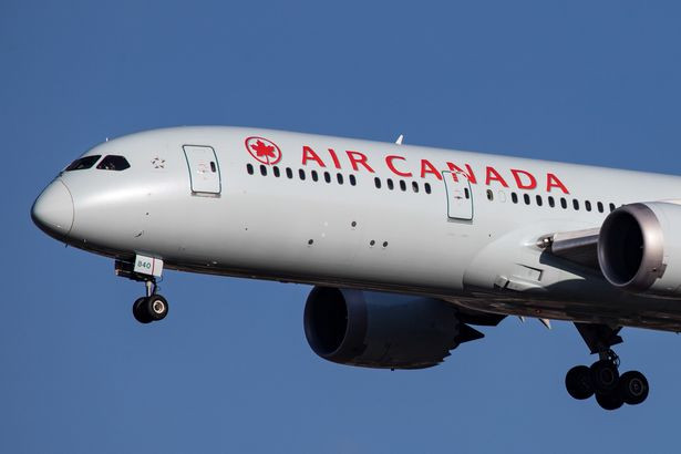 Air Canada jet with 128 passengers on board set to make emergency landing in Madrid after