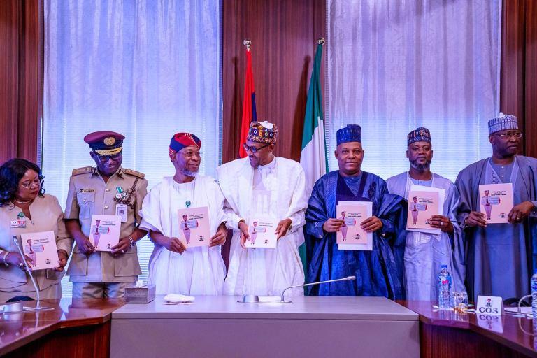Buhari presents Nigeria?s 2020 visa policy (photos)